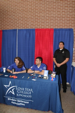 Potential and current Lonestar Kingwood Students enjoy the Open House event. Photo by Staff.